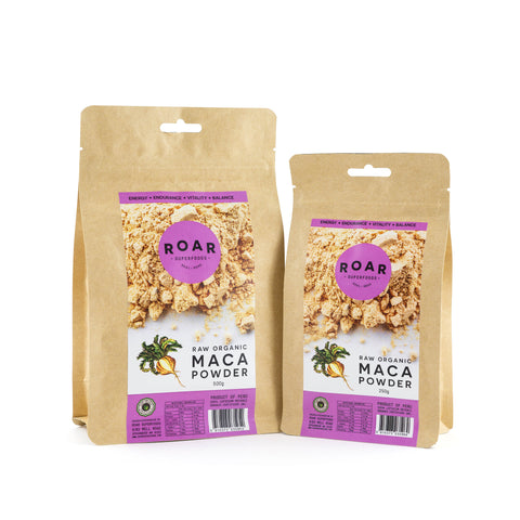 Roar Superfoods - Raw Organic Maca Powder