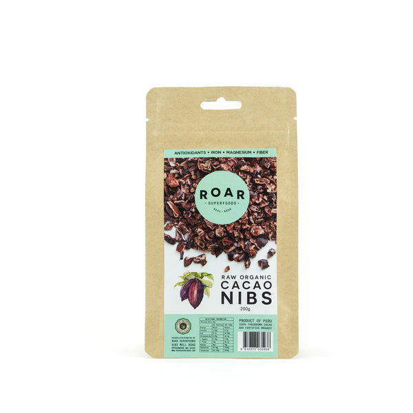Roar Superfoods - Raw Organic Cacao Nibs