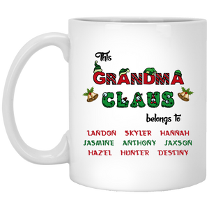 ☃️ ? Grandma Claus!! Mugs ? ☃️ - Gifts4family
