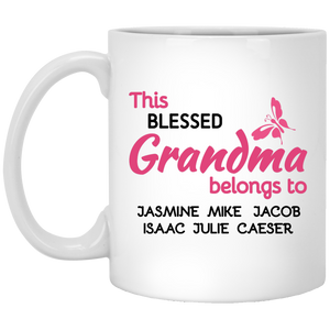 Blessed Grandma!! Mugs - Gifts4family
