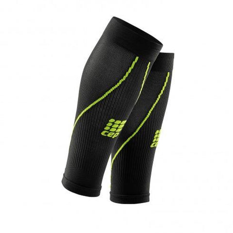 CEP Pro+ Calf Sleeve 2.0 Black/Green Men - Fluidlines