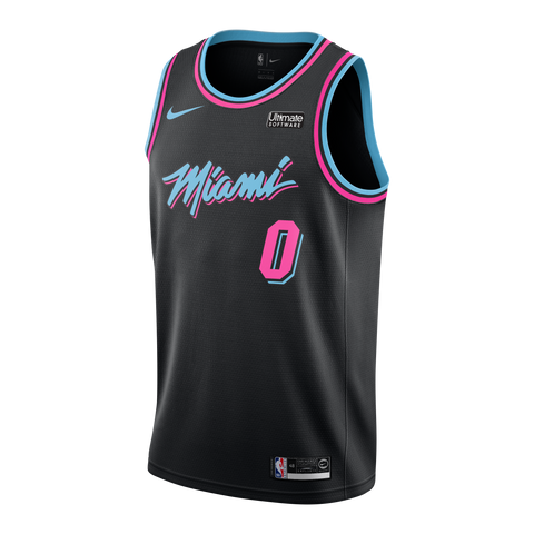 Josh Richardson Nike Miami HEAT Youth Vice Nights Swingman Jersey