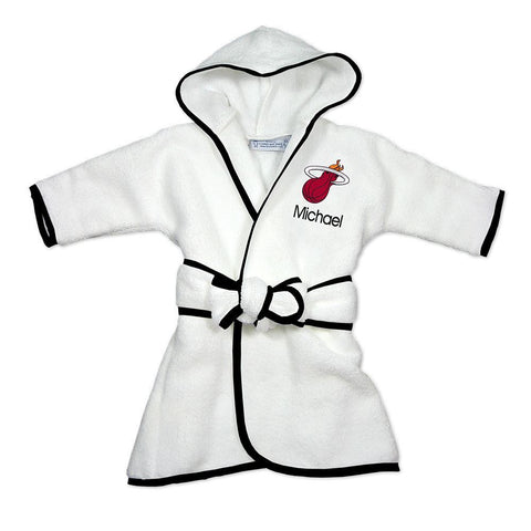 Designs by Chad and Jake Miami HEAT Custom Infant Robe