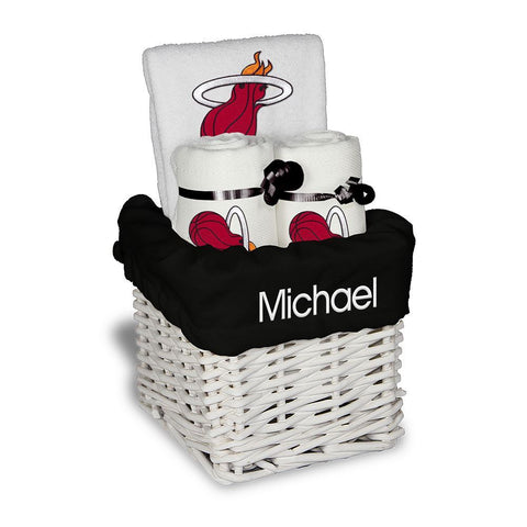 Designs by Chad and Jake Miami HEAT Custom Infant Small Basket