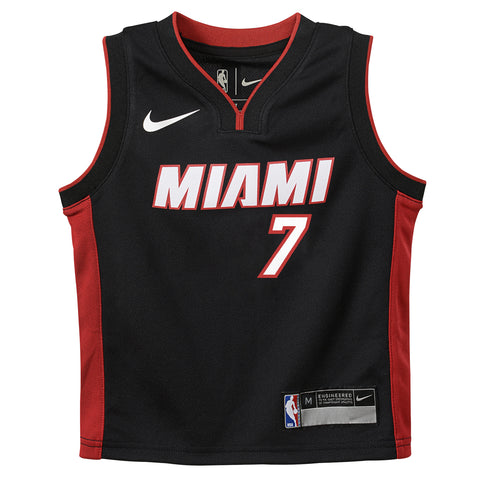 Goran Dragic Miami HEAT Kids Black Replica Jersey