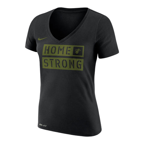 Nike Miami HEAT ladies Home Strong V-Neck