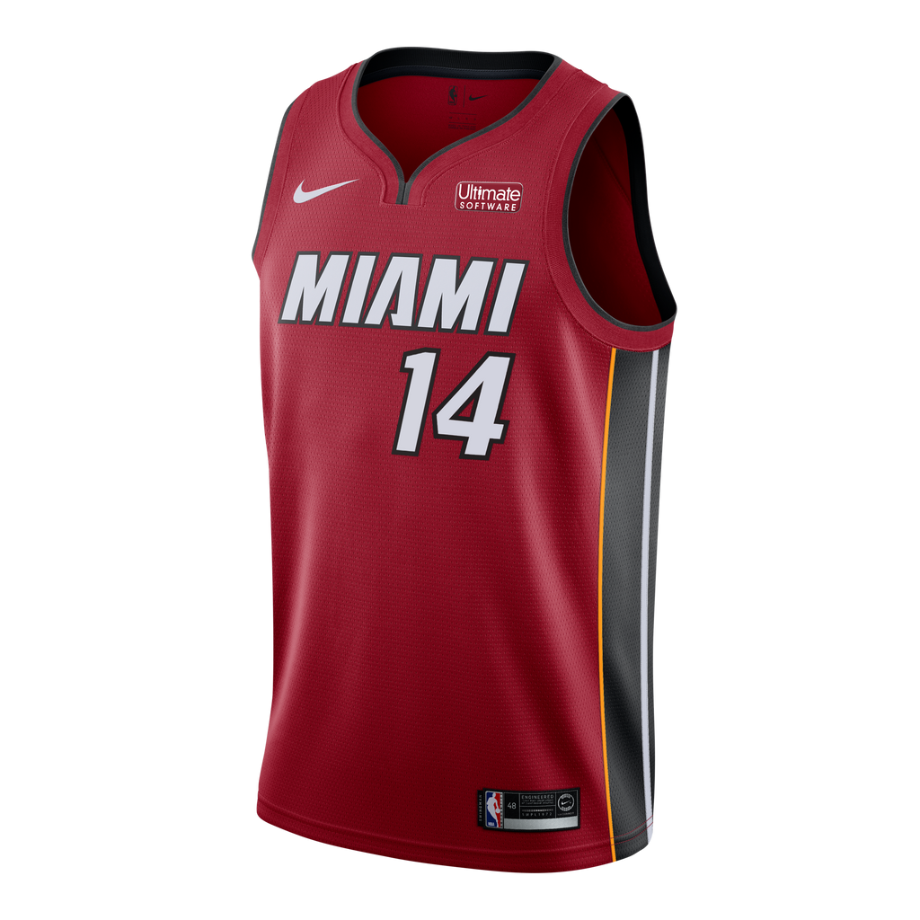 Tyler Herro Nike Statement Red Youth Swingman Jersey - featured image