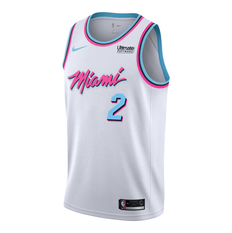 Wayne Ellington Nike Miami HEAT Youth Vice Uniform City Edition Swingman Jersey