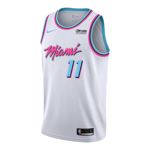 Dion Waiters Nike Miami HEAT Vice Uniform City Edition Youth Swingman Jersey