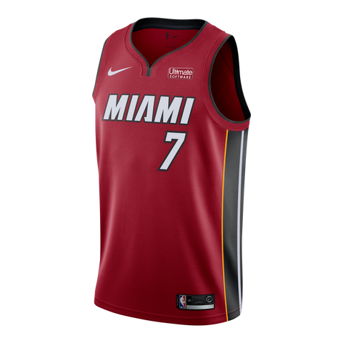 Goran Dragic Nike Miami HEAT Youth Statement Red Swingman Jersey