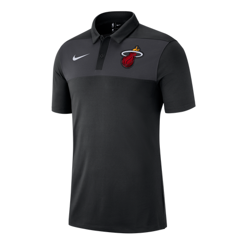Nike Miami HEAT Short Sleeve Statement Polo