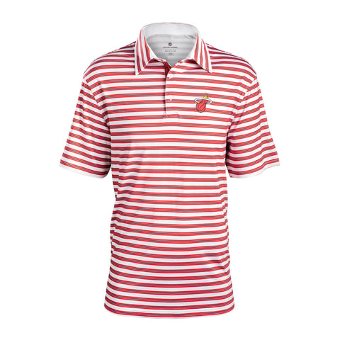Levelwear Miami HEAT Harrison Stripe Polo