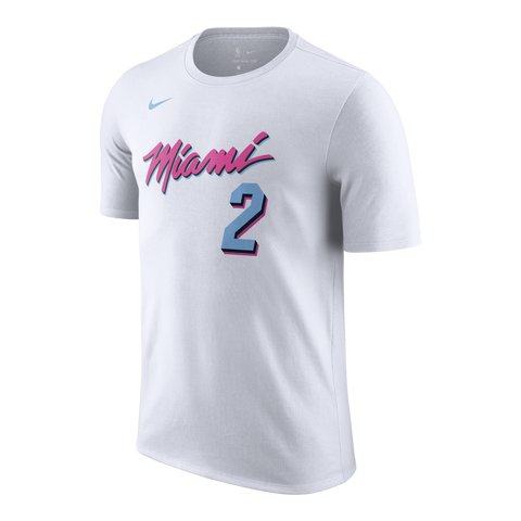 Wayne Ellington Nike Miami HEAT Vice Uniform City Edition Youth Name & Number Tee