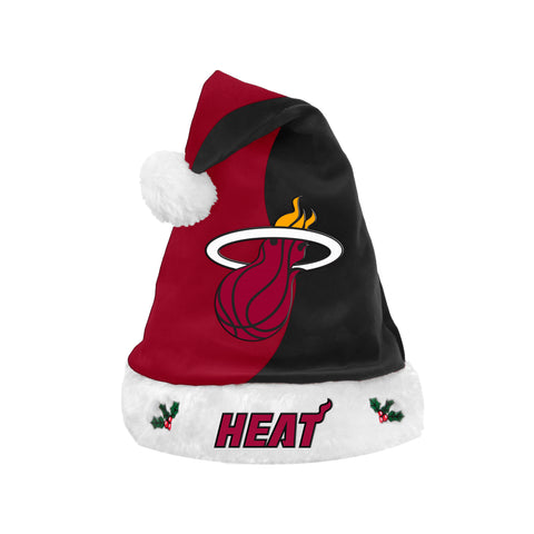 Forever Collectibles Miami HEAT Santa Hat