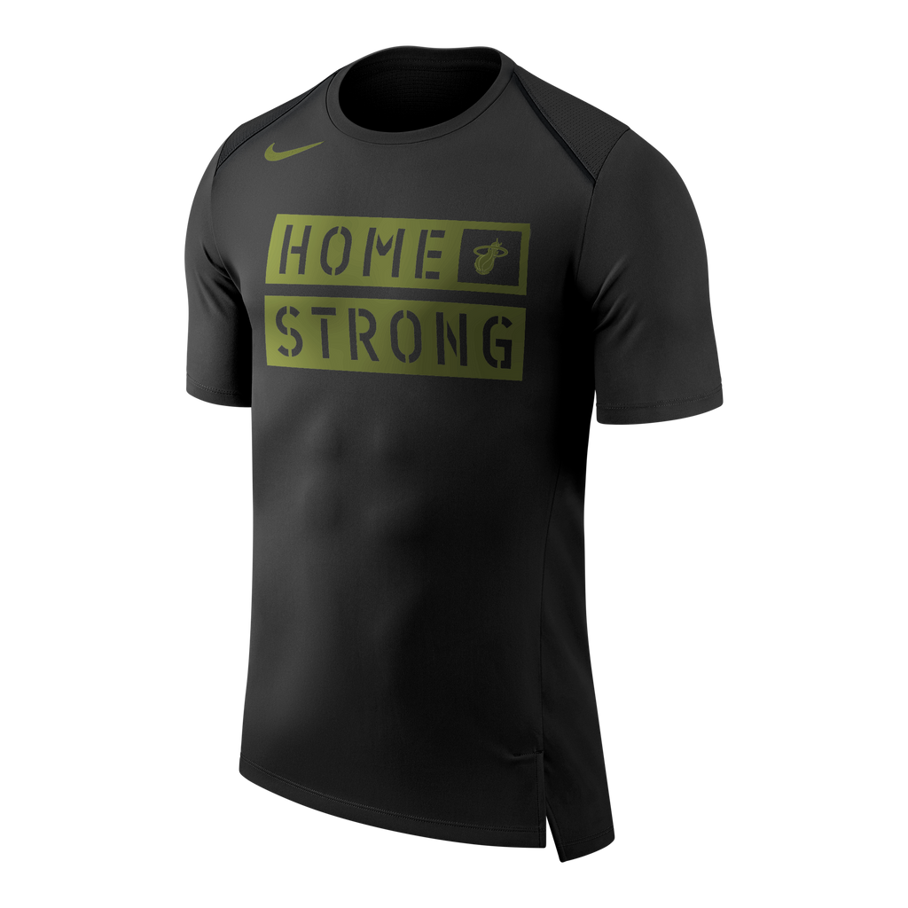Nike Miami HEAT Short Sleeve Home Strong Tee - featured image