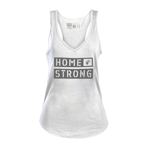 Court Culture Ladies Home Strong Logo  TANK