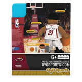 OYO Sports Miami HEAT Hassan Whiteside Minifigurine - 3