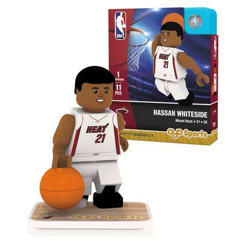 OYO Sports Miami HEAT Hassan Whiteside Minifigurine