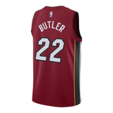 Jimmy Butler Nike Miami HEAT Youth Statement Red Swingman Jersey - 2