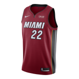 Jimmy Butler Nike Miami HEAT Youth Statement Red Swingman Jersey - 1