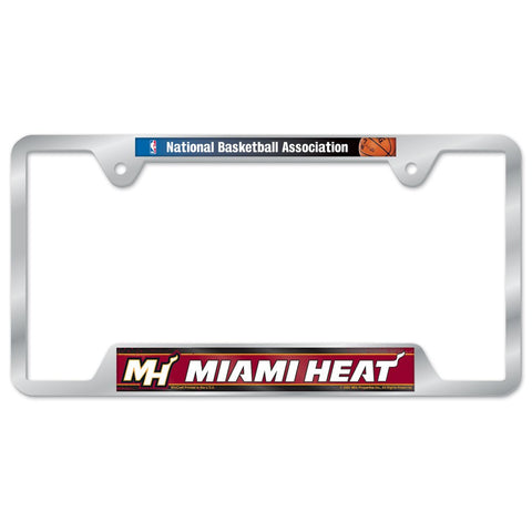 Wincraft Miami HEAT Metal License Plate Frame