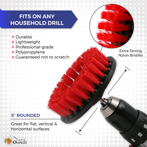 Cleaning Drill Brush