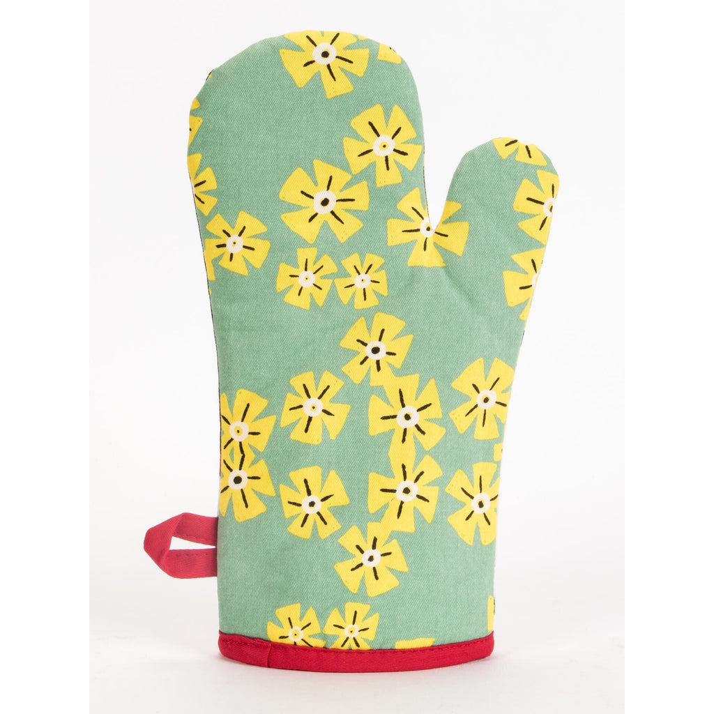 Blue Q Oven Mitt - I'm Beautiful And I Eat A Lot