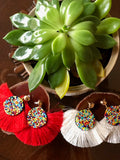 Zulu Fiesta Earrings
