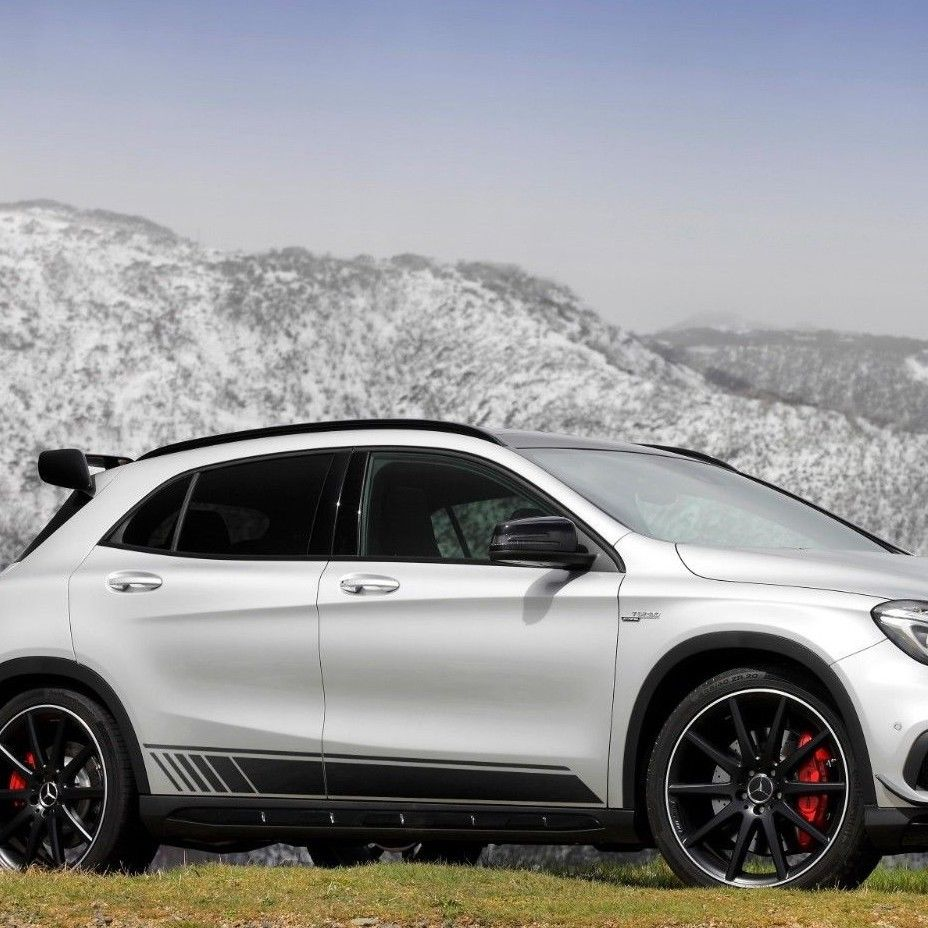 Mercedes-Benz GLA-Class X156 AMG Sports Stripes Decal