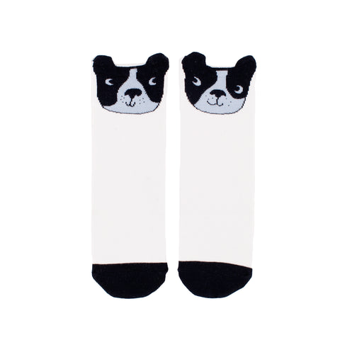 Boston Terrier Knee High Socks