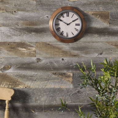 Weathered Grey Wood Wall Panels