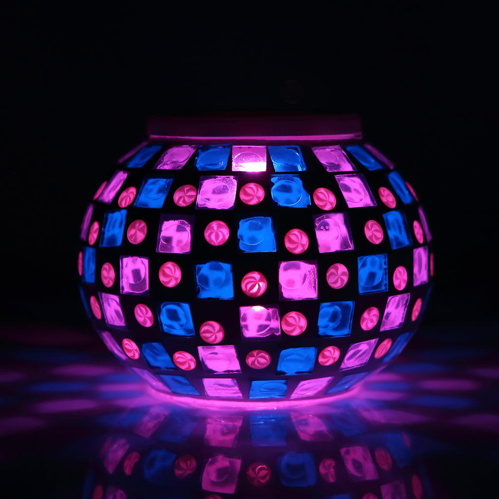Magicnight Color Changing Mosaic Solar Table Light - MAGICNIGHT