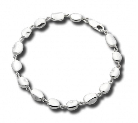 Sterling Silver Mini Riverstones Bracelet