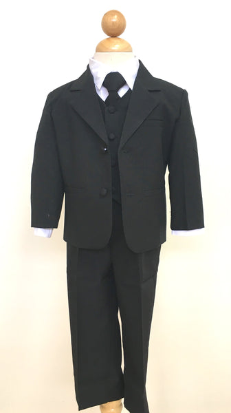 Black Infant/Toddler Tuxedo