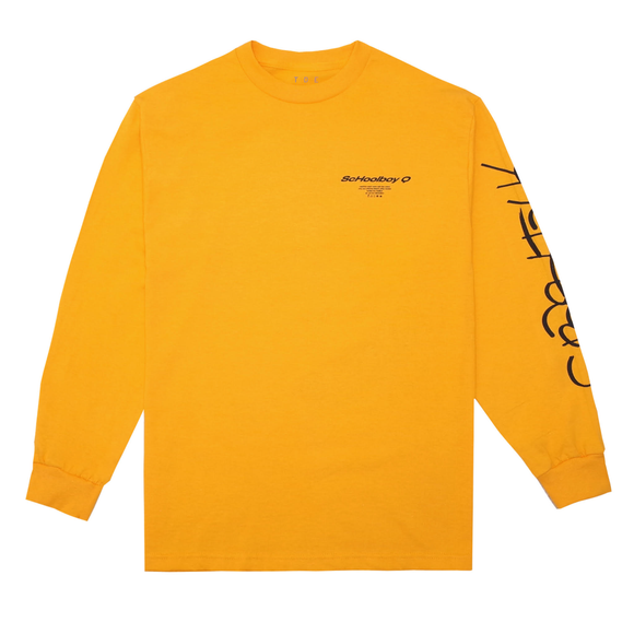 CrasH Talk L/S T-Shirt (Yellow)