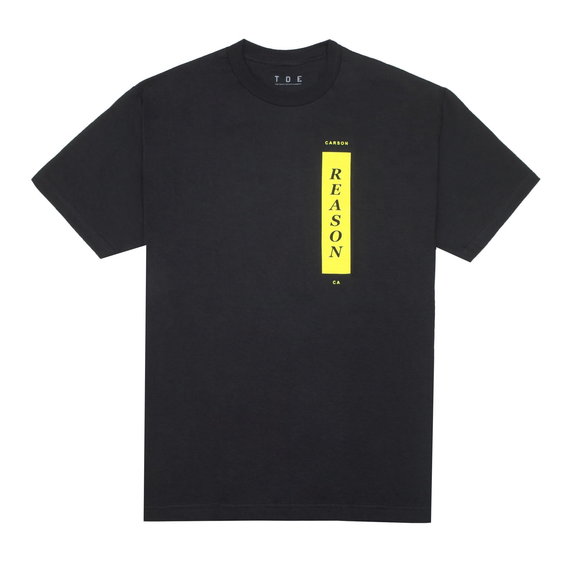 There Is A Reason S/S T-Shirt (Black)