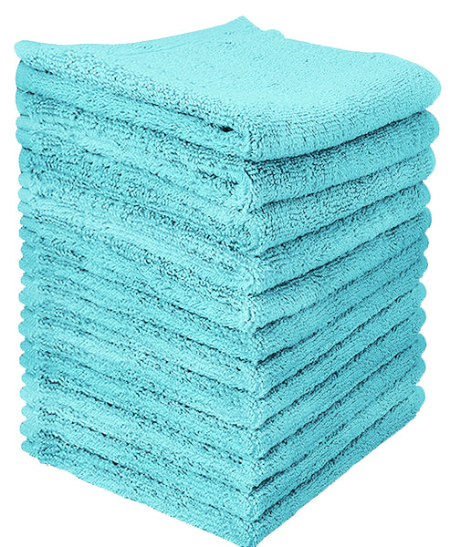Goza Towels  Cotton Washcloths (12-Pack, 12 x 12 inches) - Gozatowels