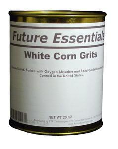 Future Essentials White Corn Grits by Future Essentials