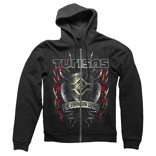 Black Varangian Guard Zip Hoody