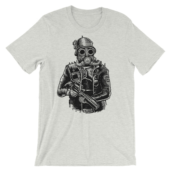 Steampunk Soldier #2 Short-Sleeve Unisex T-Shirt