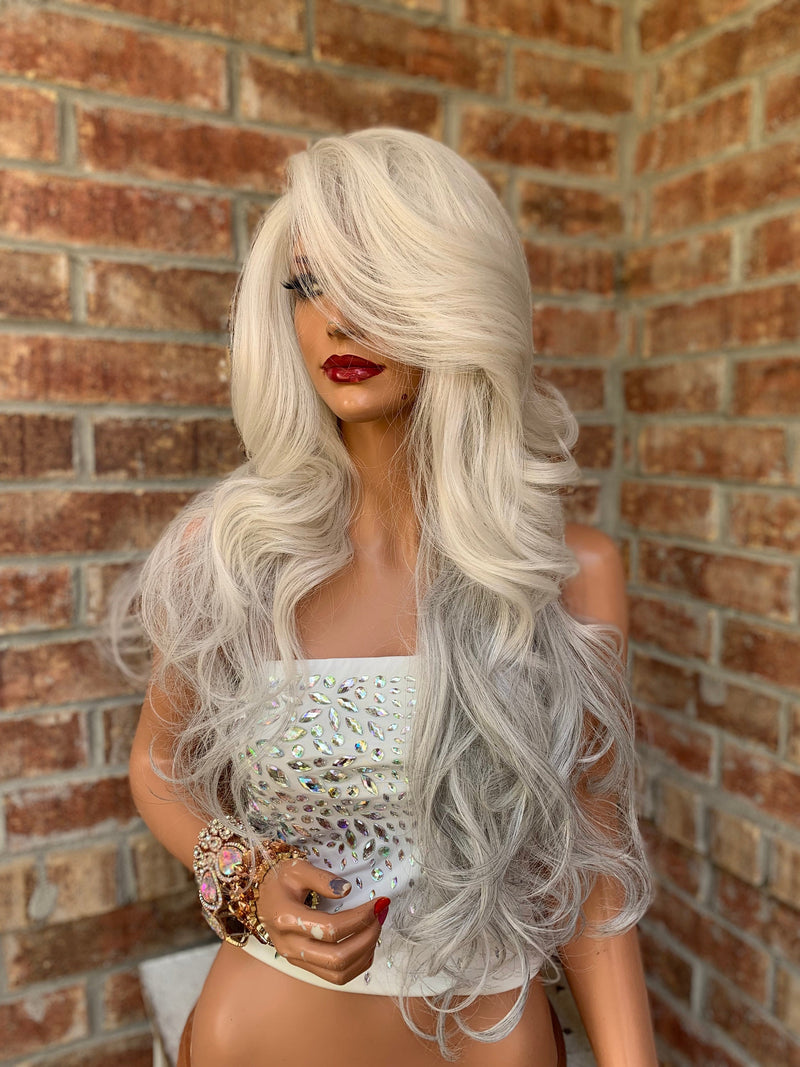 Gray Silver Hair Wig | Gauntlet 0419