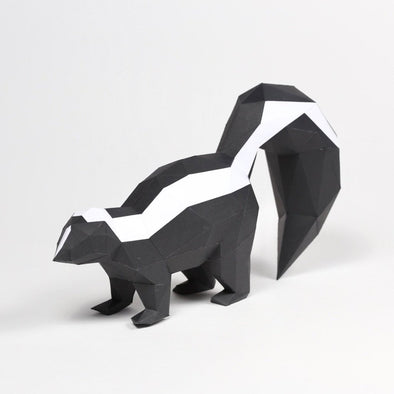 Skunk - Low Poly Crafts