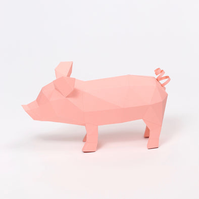 Piglet Kit - Low Poly Crafts