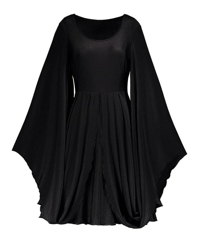 Dark Batwing Autumn Dress