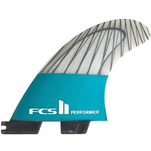 FCS II Performer PC Carbon Tri Fin Set - SUPSHED NZ
