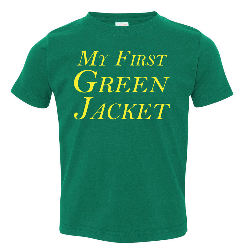 My First Green Jacket