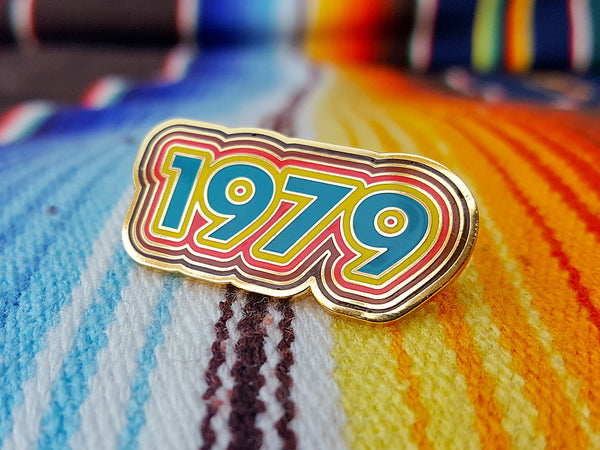 Hallow Collective - 1979 Enamel Pin Badge