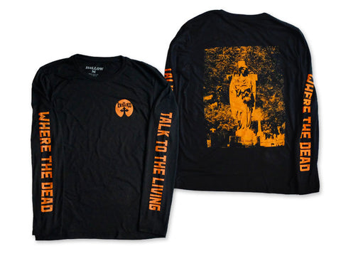Hallow Collective - Where The Dead Talk To The Living Long Sleeve Front and Back