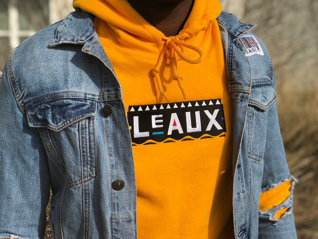 Martin Leaux-Rence Hoodie - Gold