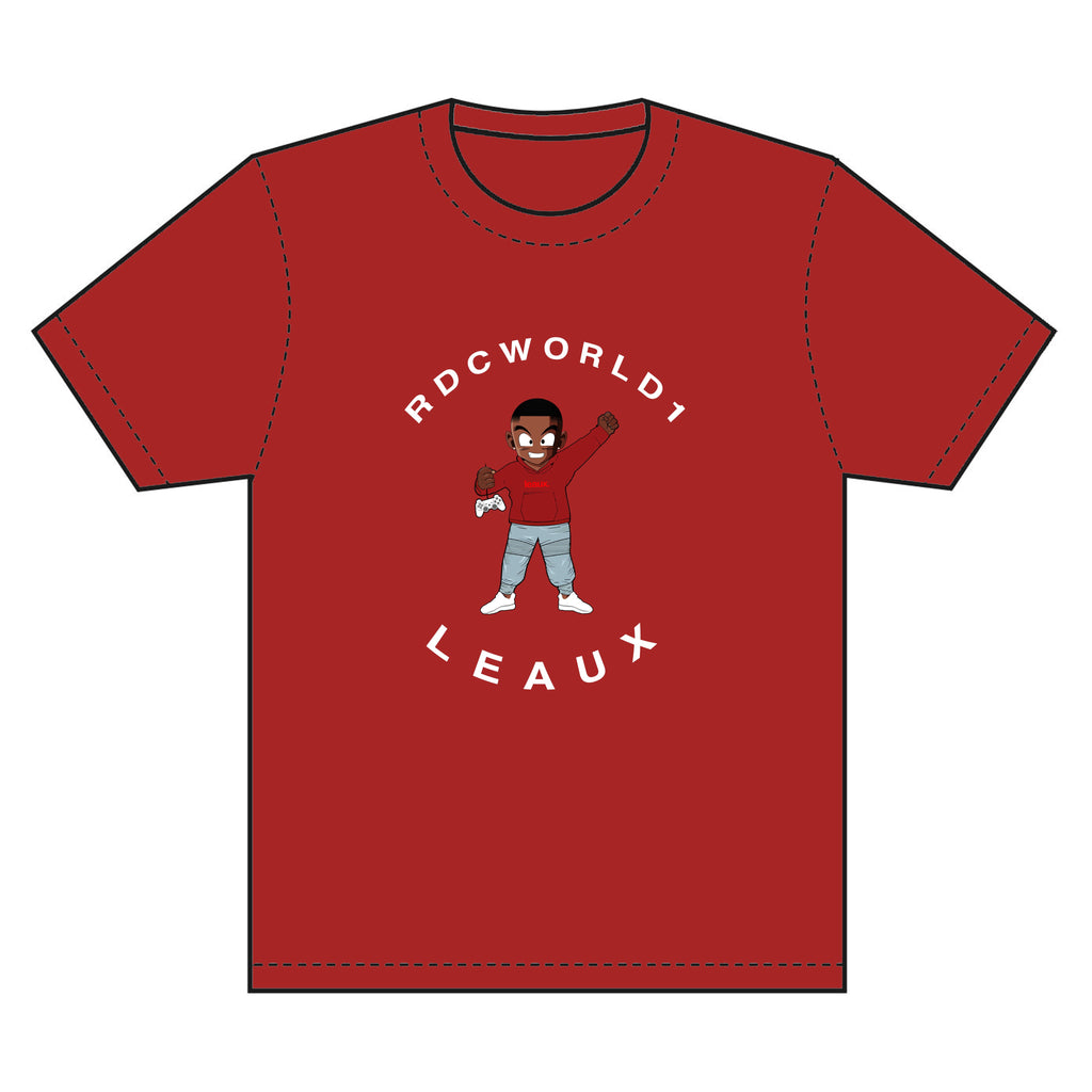 *RDCWorld x LEAUX Tee Shirt - Red